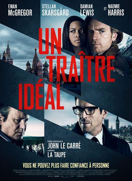 le casting du thriller un traître idéal est réuni sur cette affiche