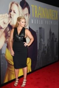 la comédienne américaine Amy Schumer en promotion