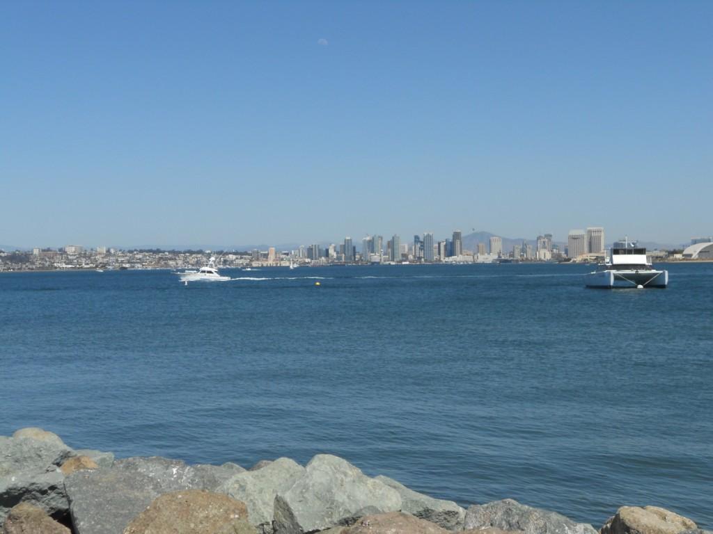 vue magnifique de San Diego