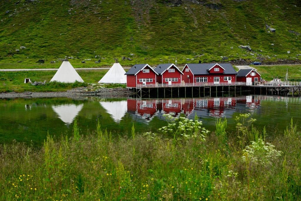 paysage de Norvège très beau