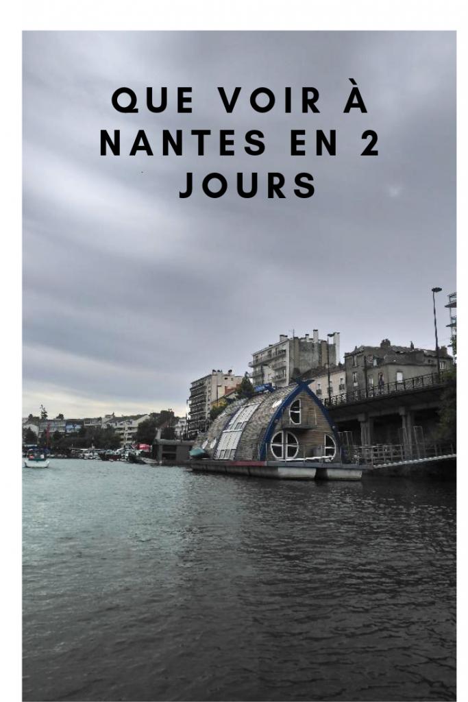 que voir à Nantes en 2 jours