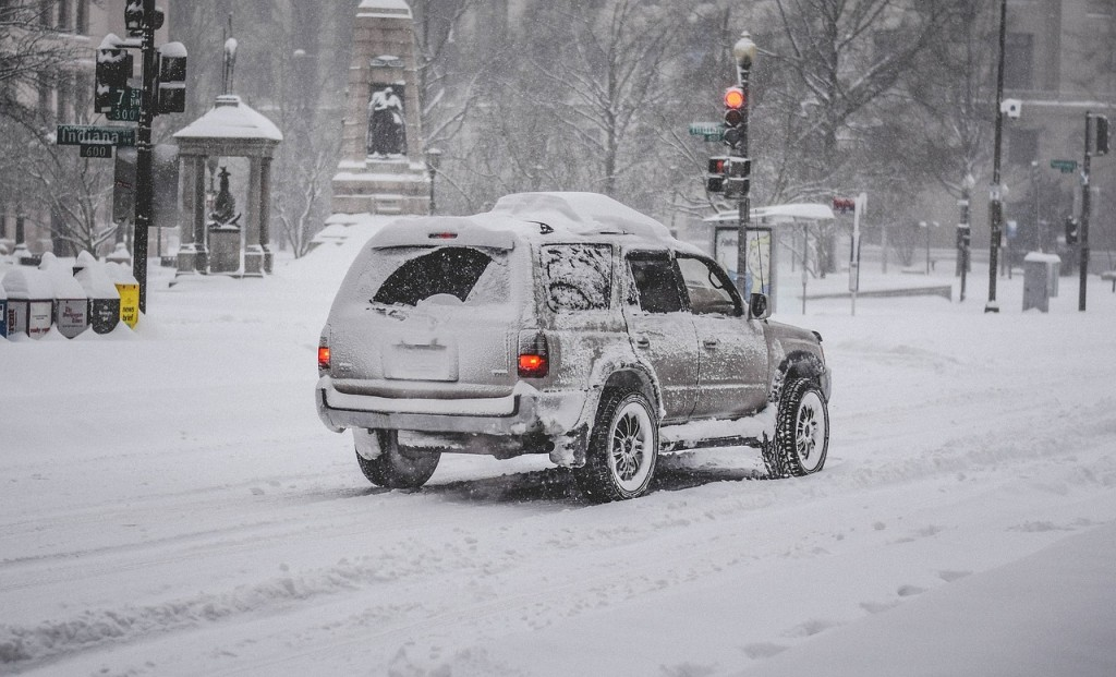 New York sous une tempête de neige