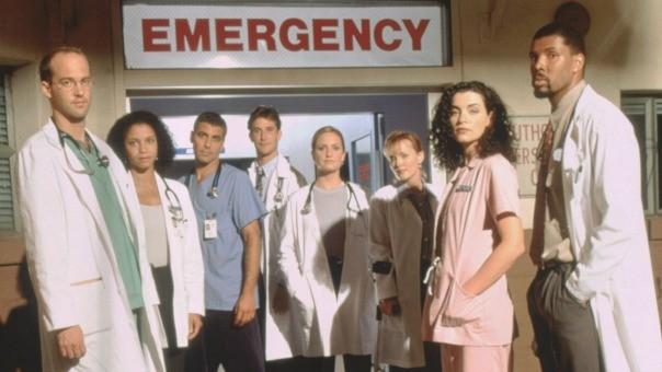 ici le casting de la série urgence