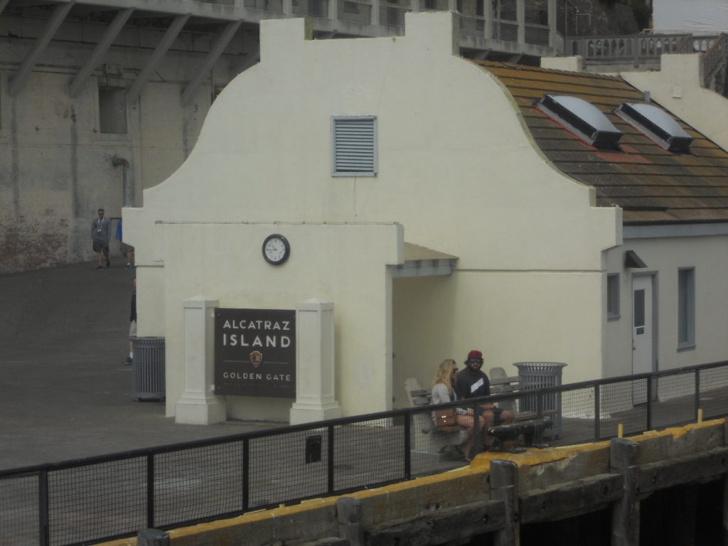 ici la prison d'alcatraz en californie