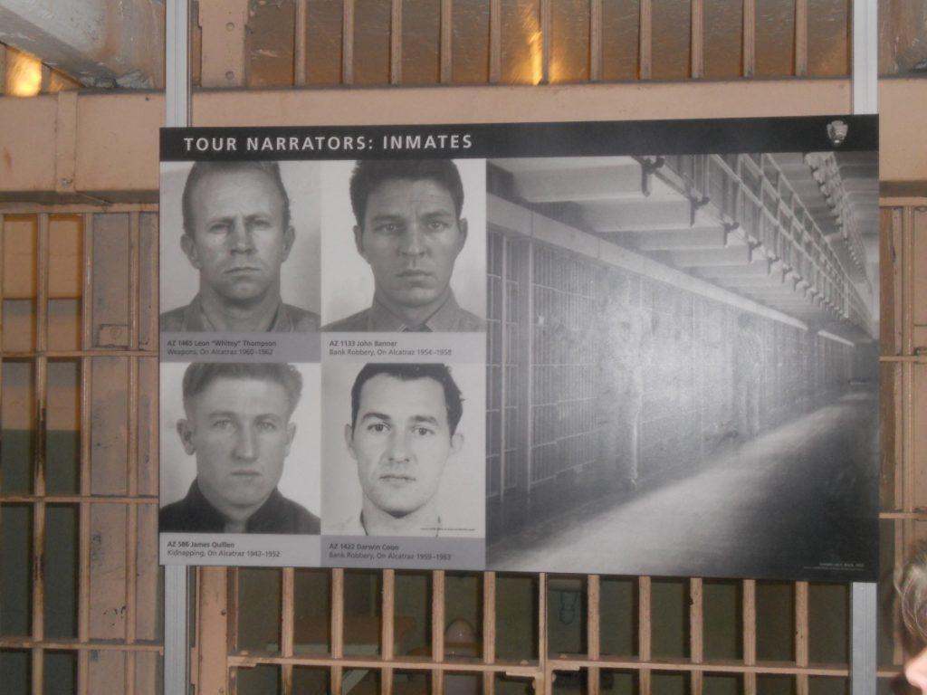 il y a plusieurs témoignages de la vie dans la prison d'alcatraz