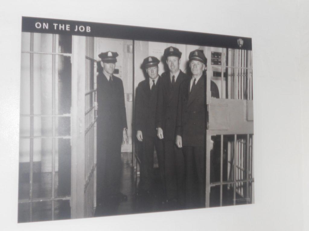 les gardes étaient sous tension à alcatraz