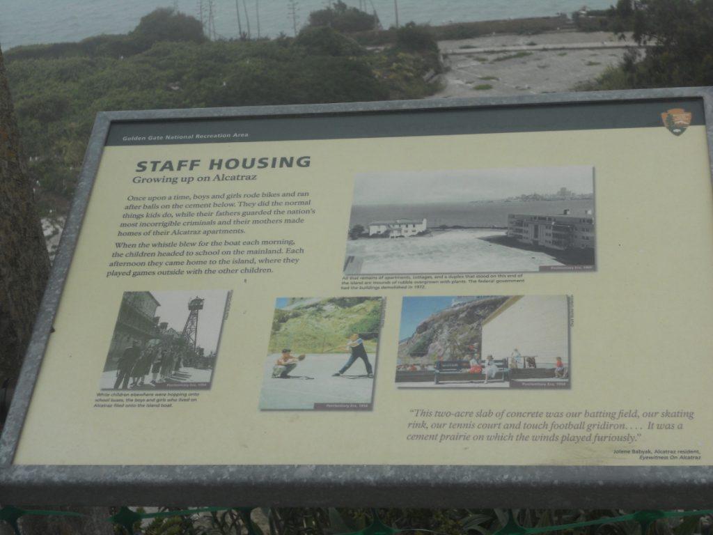 plan des bâtiments d alcatraz en californie