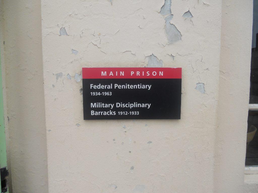 Alcatraz prison militaire et prison fédérale