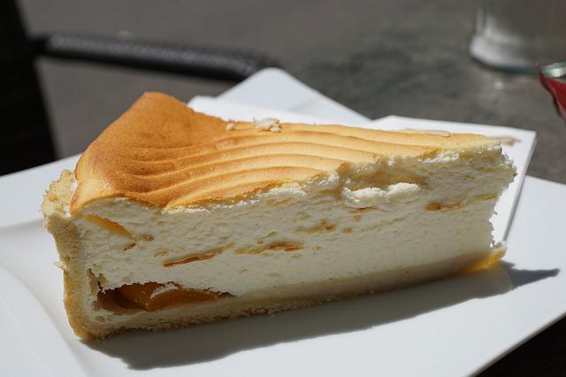 dessert typique aux Usa le cheesecake