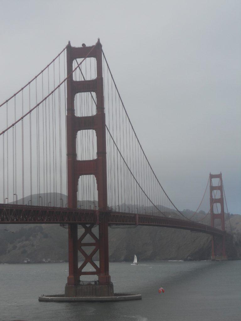 le fameux pont de San Francisco