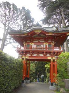 n'est ce pas magnifique dans le japenese tea garden de San Francisco
