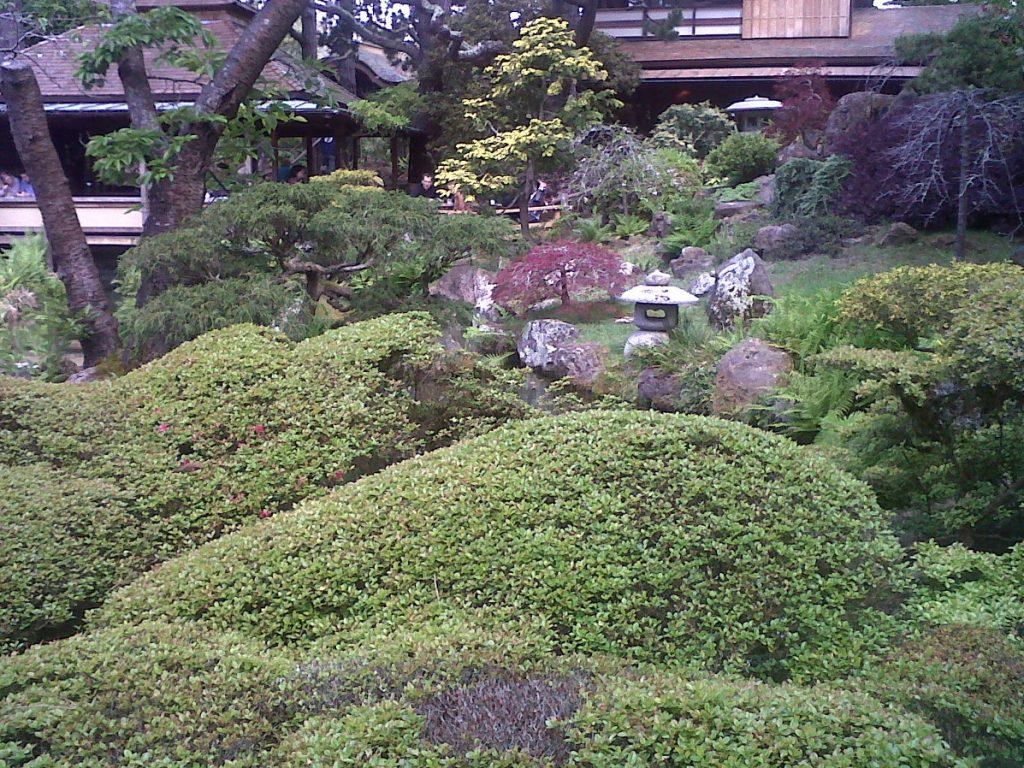un jardin à la japonaise au Japenese Tea Garden à San Francisco