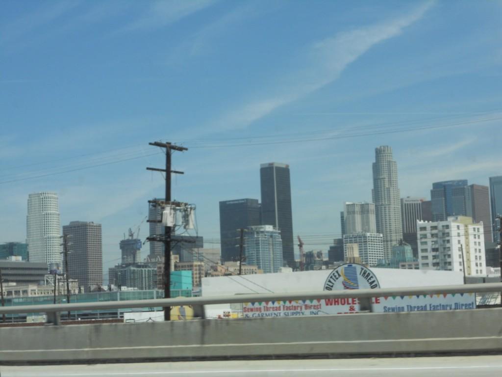 vue de l autoroute Los Angeles