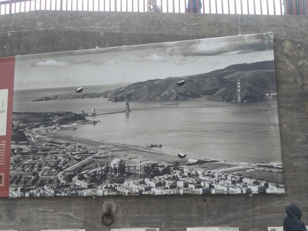 avant les travaux le quartier du Golden Gate Bridge était différent