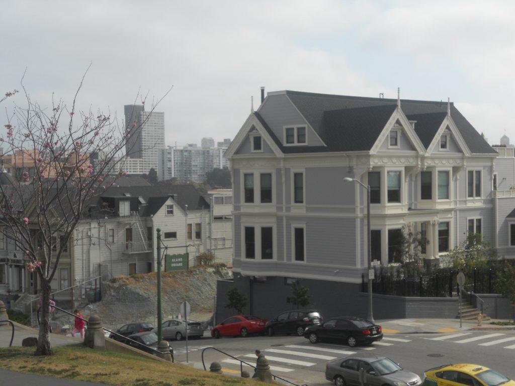 panorama de la ville dans ce parc à San Francisco