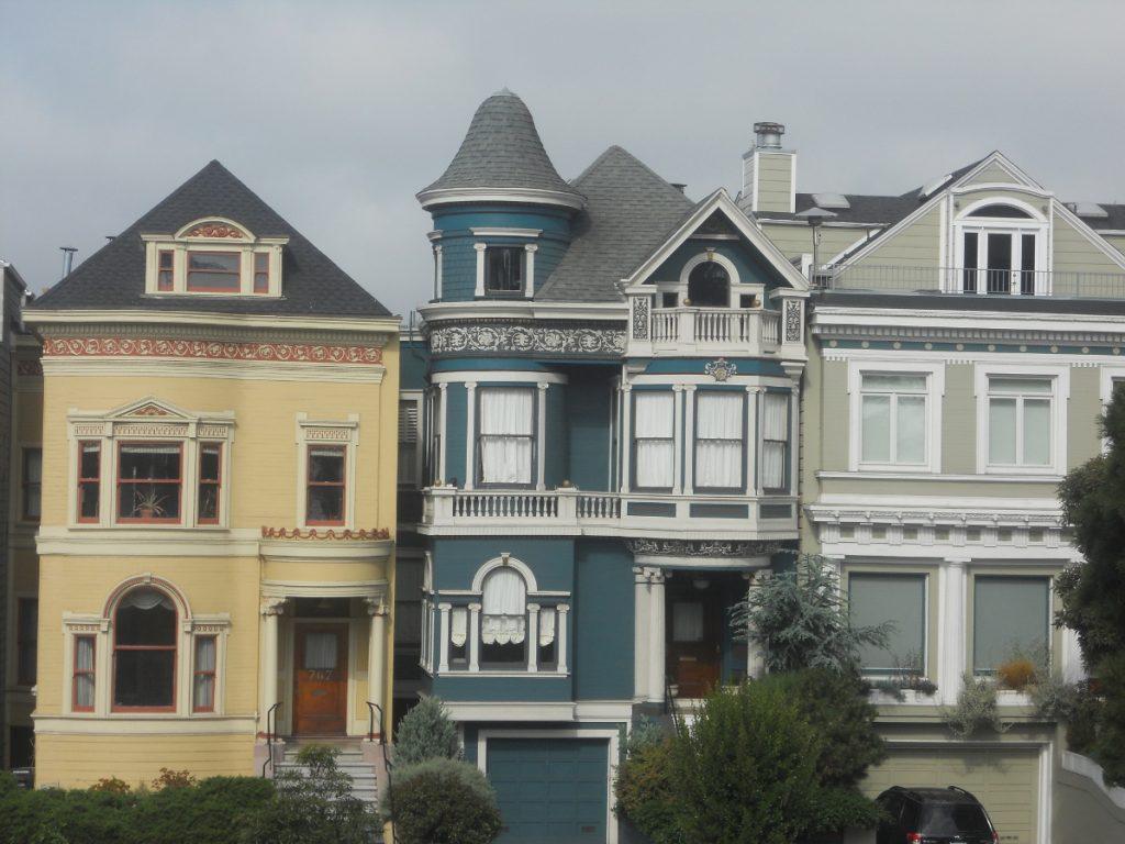 les painted ladies sont des maisons victoriennes