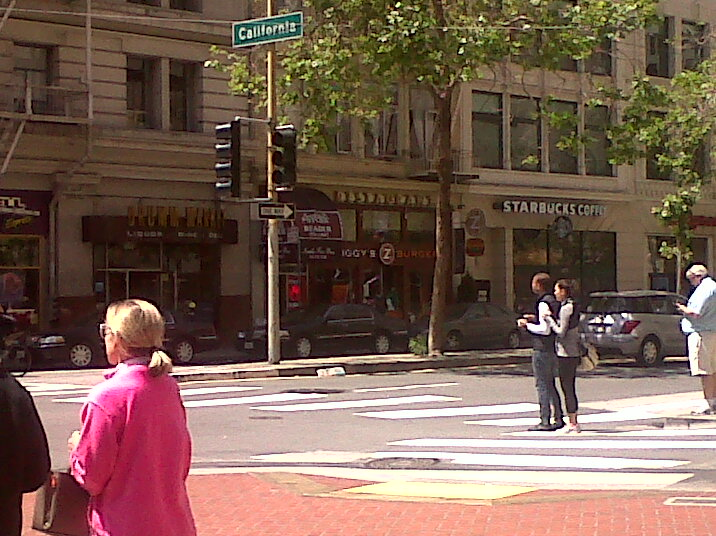 observer les passants à San Francisco