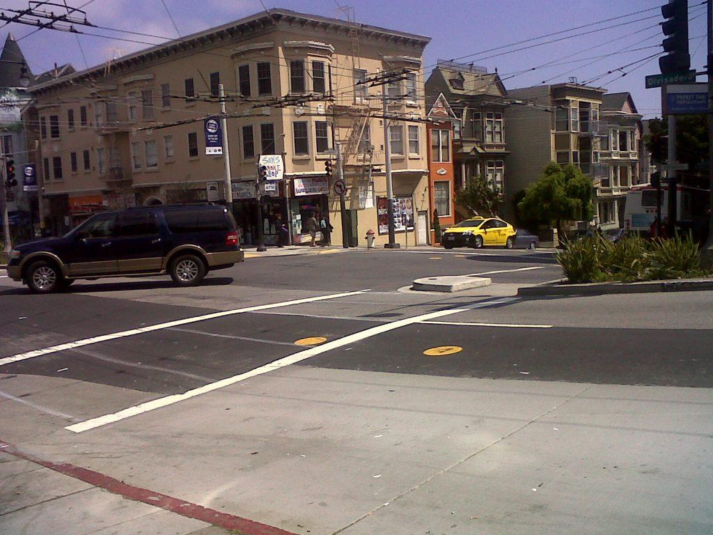 les rues de San Francisco sont tellement pentues