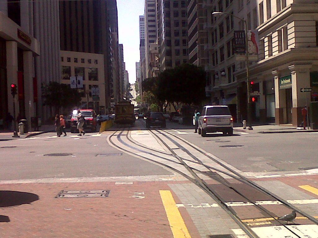 sympa ces rues de San Francisco
