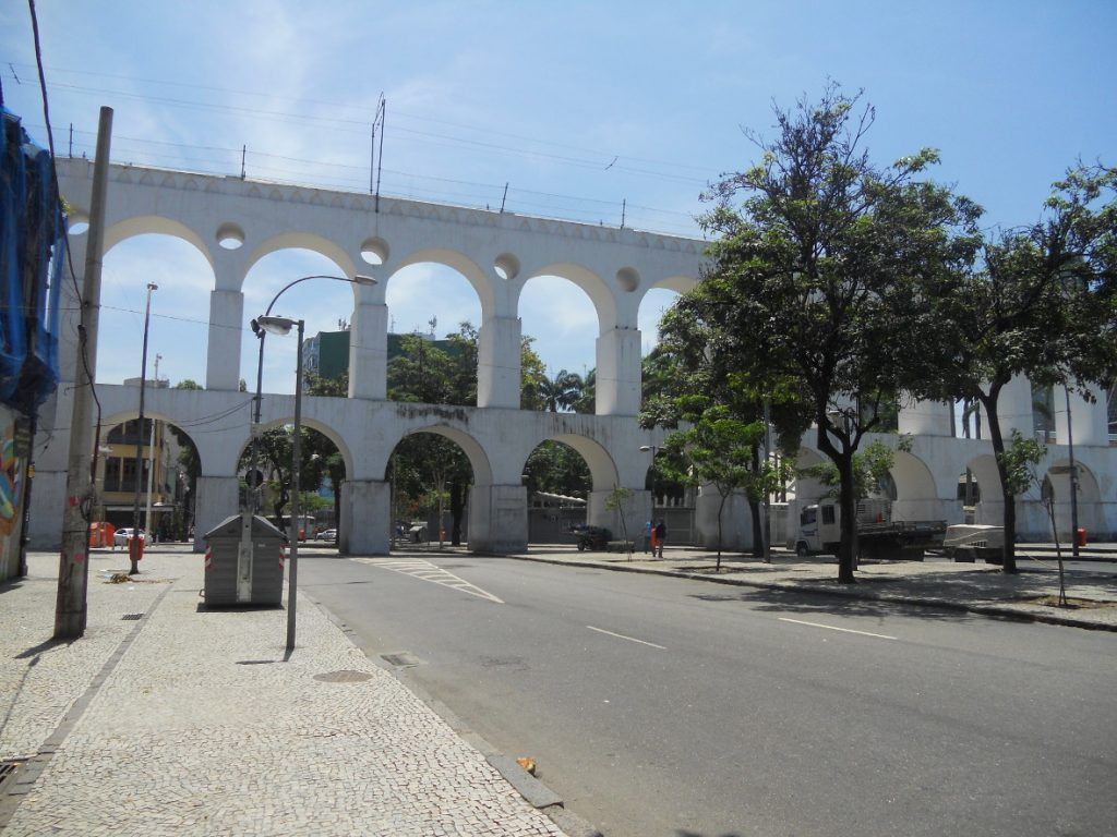 ces arches de Lapa sont très célèbres