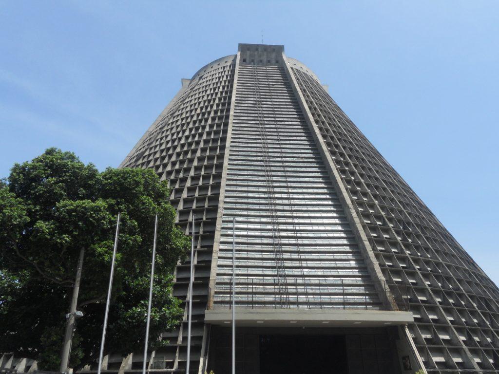 belle cathédrale moderne de Rio