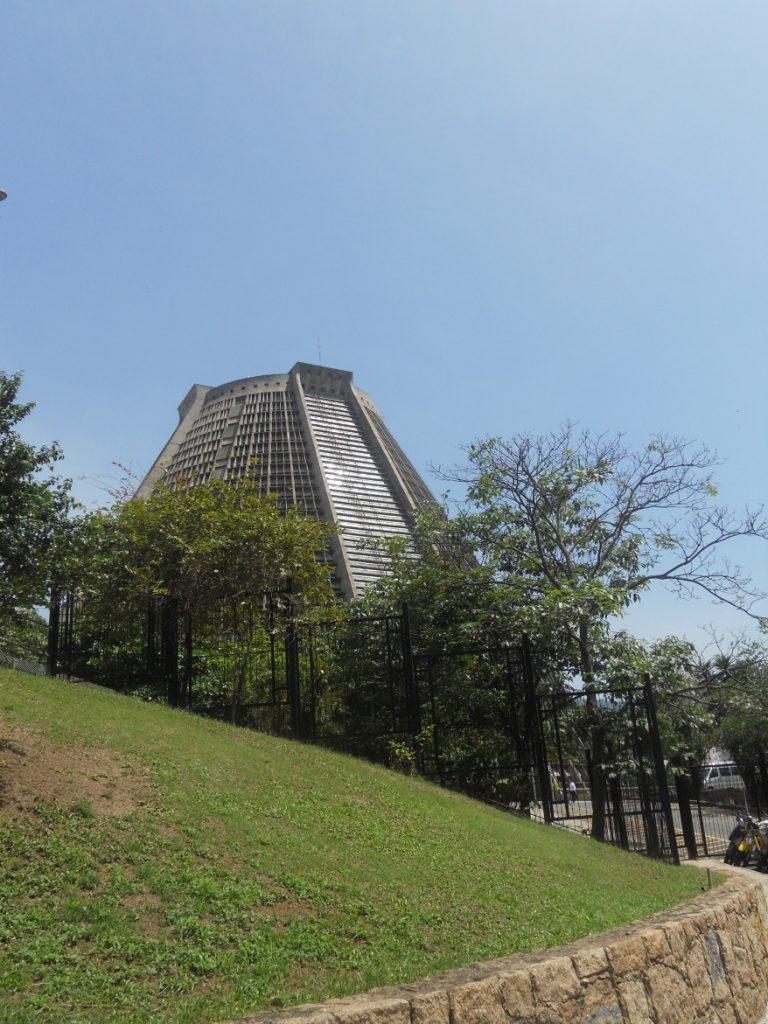 vue de la cathédrale de Rio