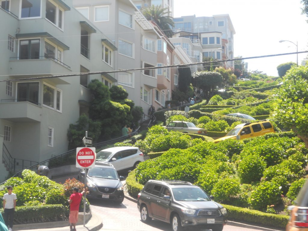 la fameuse lombard street