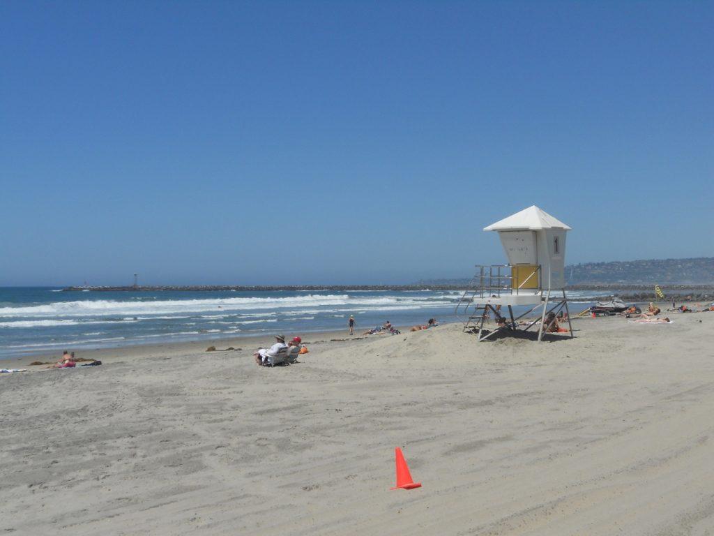 je ne serais pas contre retourner à San Diego