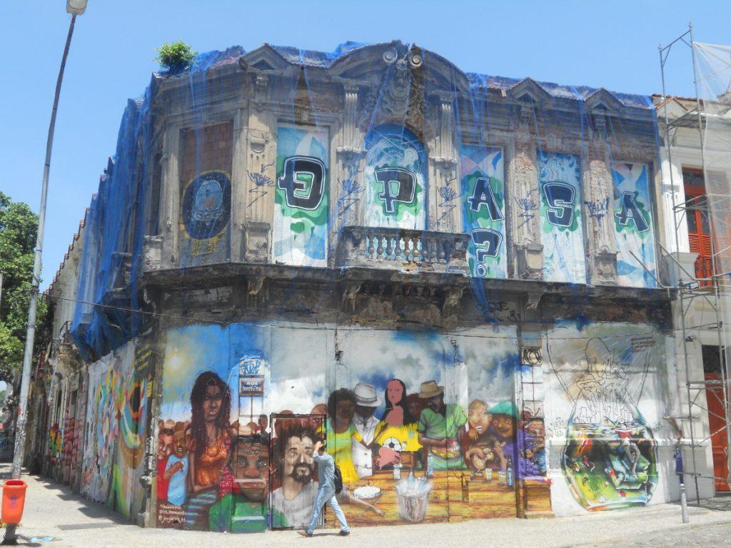 le street art est présent partout