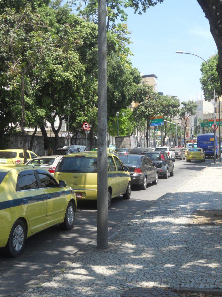 les embouteillages à Rio ne sont pas une légende