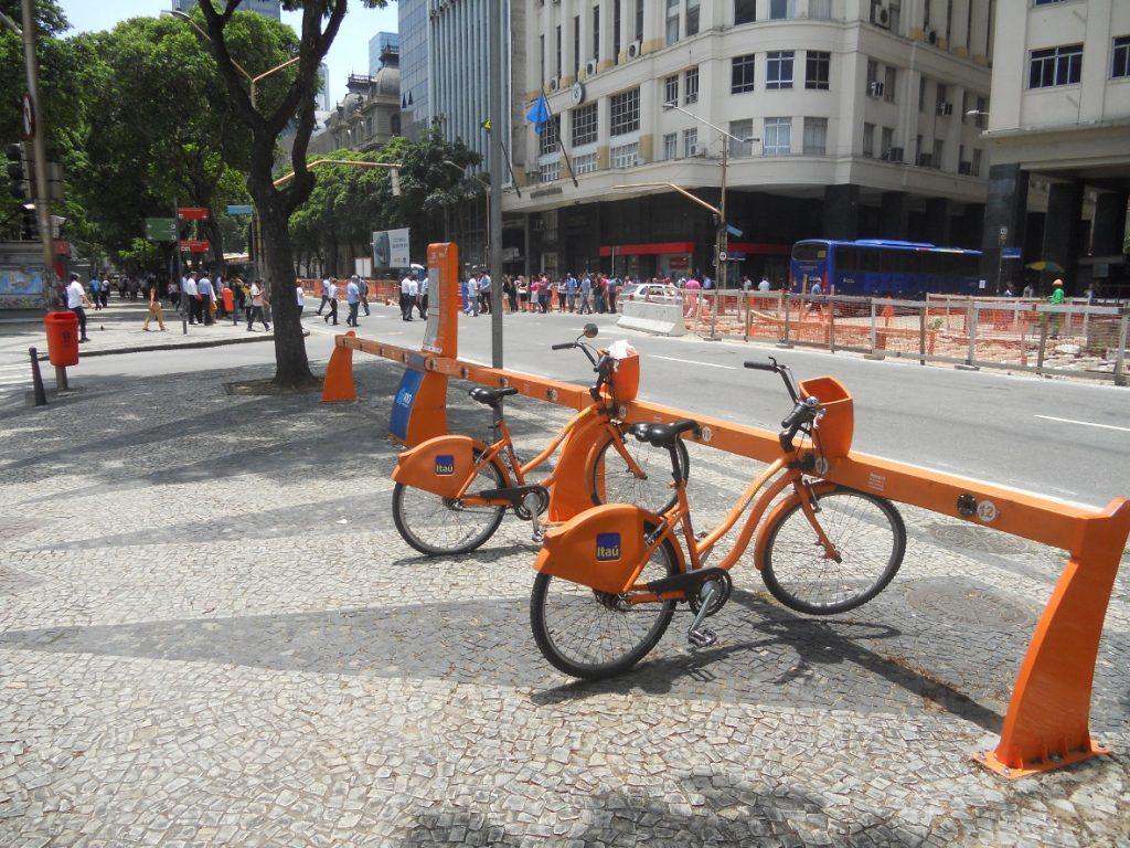 ils ont leur vélib à Rio aussi