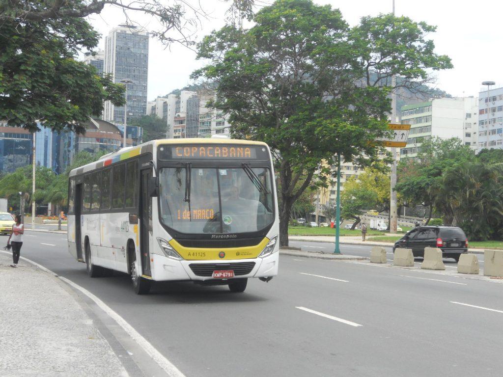 les bus sont tellement nombreux dans cette ville de rio