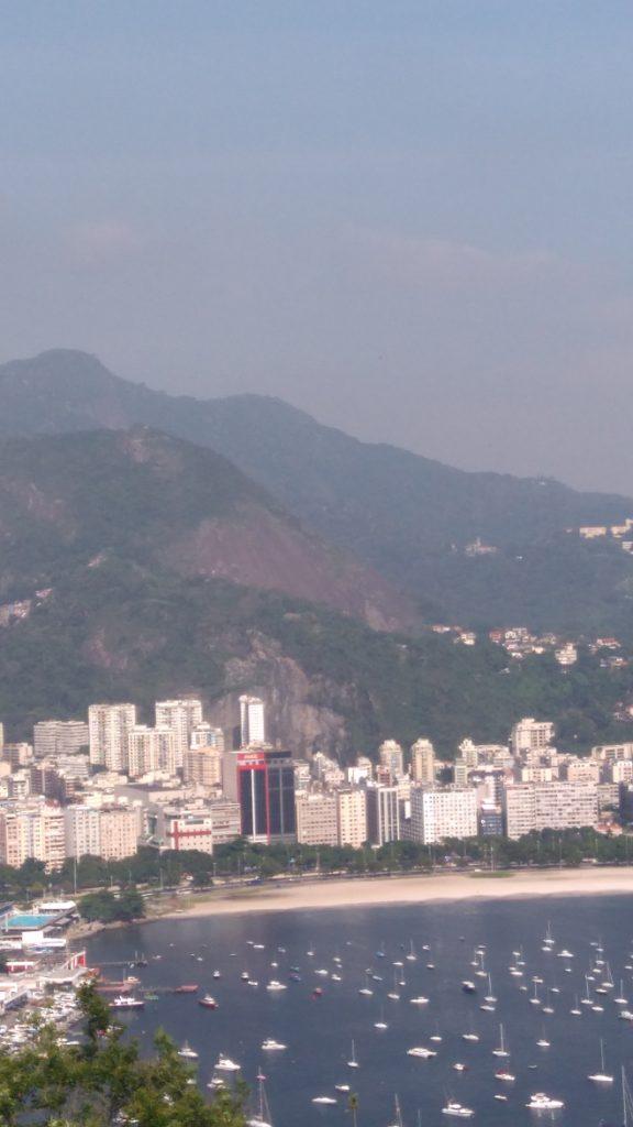 quelle paysage à Rio