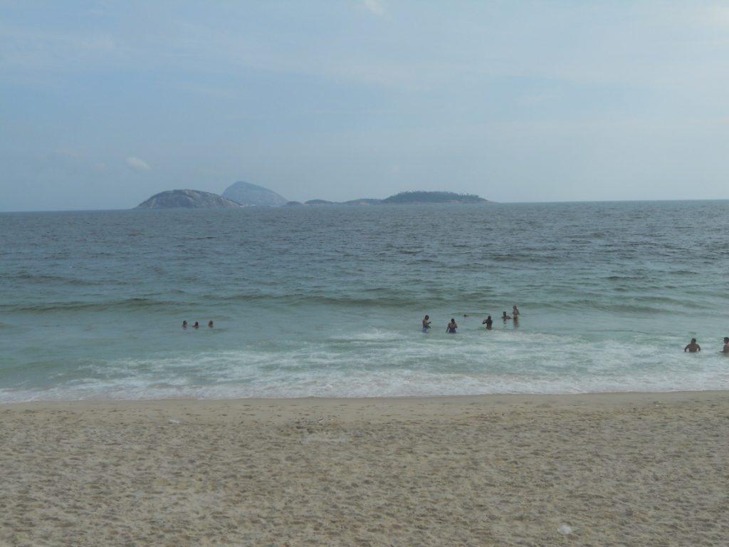 c'est magnifique la plage au Brésil