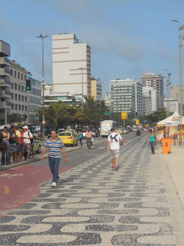 les plages à Rio sont immenses