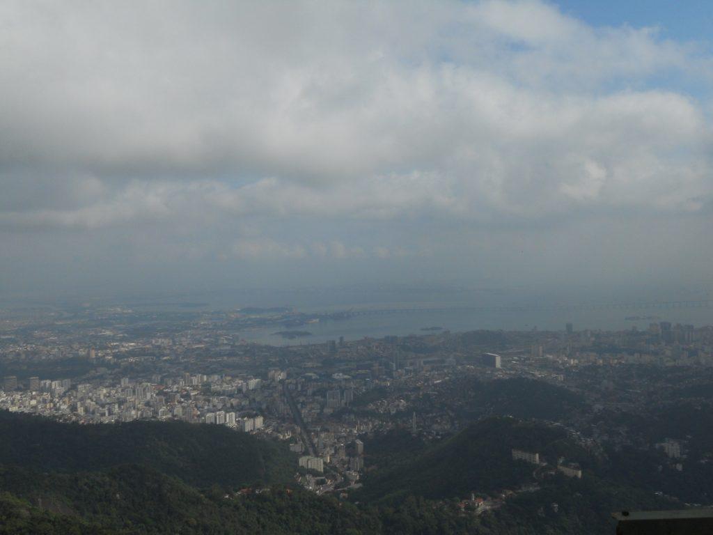 on peut admirer Rio depuis le christ redempteur