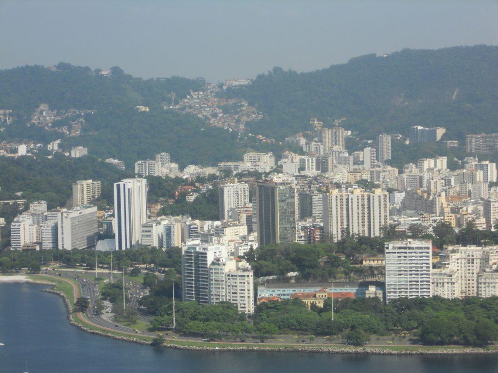 la vue sur Rio est incroyable