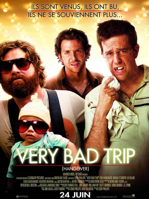 films à succès que j'ai vu par hasard comme very bad trip