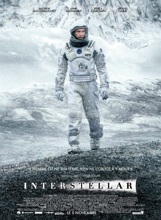 interstellar est un film de science fiction très bon