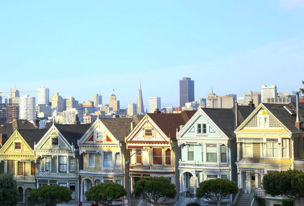 les painted ladies sont incontournables à San Francisco