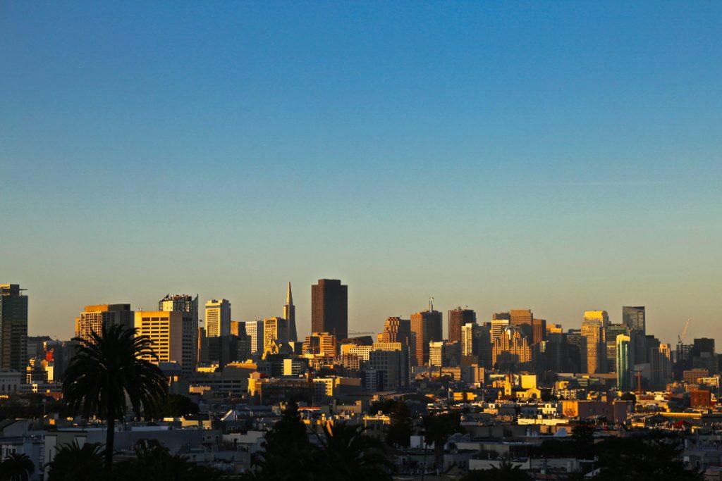 une vue magnifique sur San Francisco