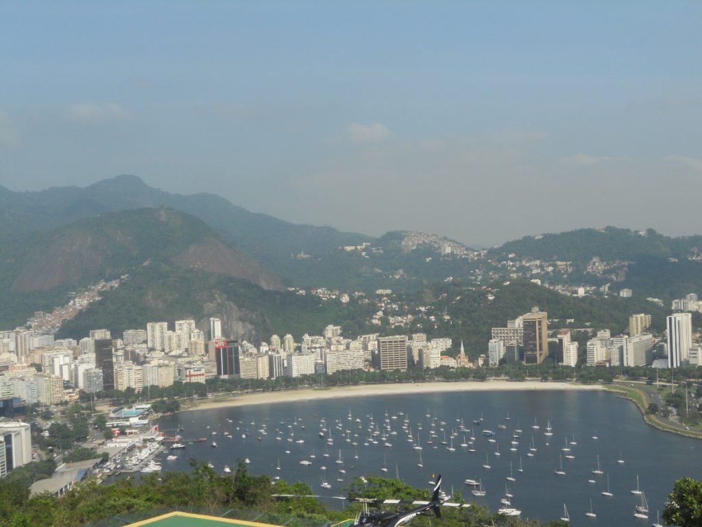 une vue magnifique de Rio