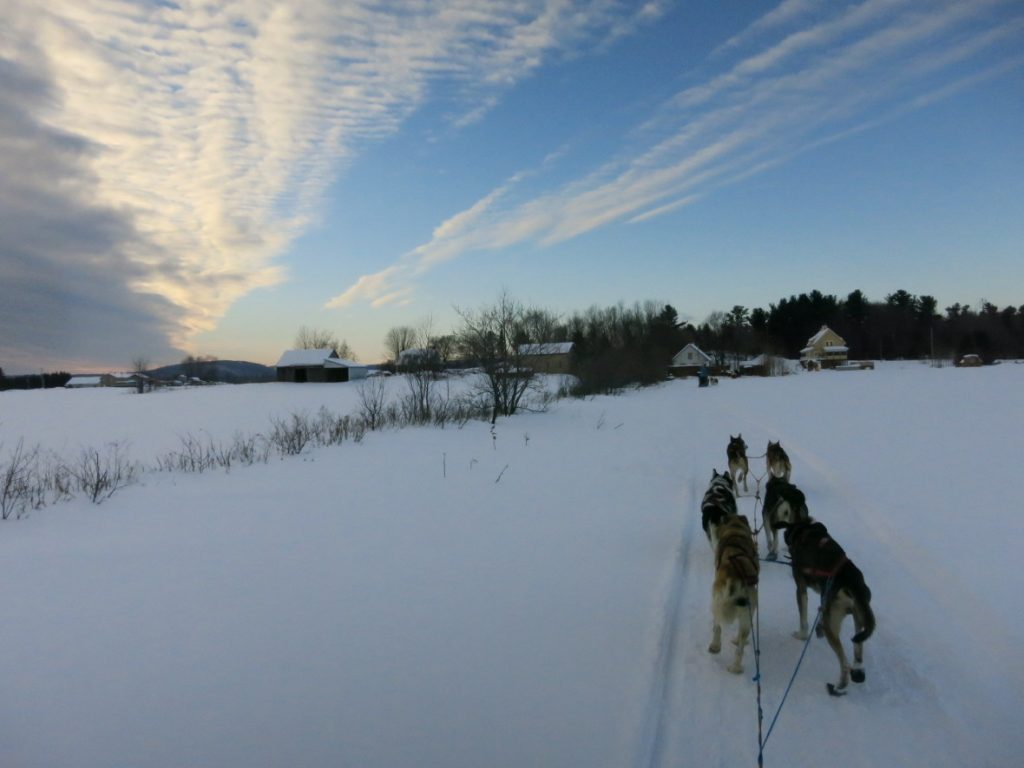 Canada sous la neige le cliché