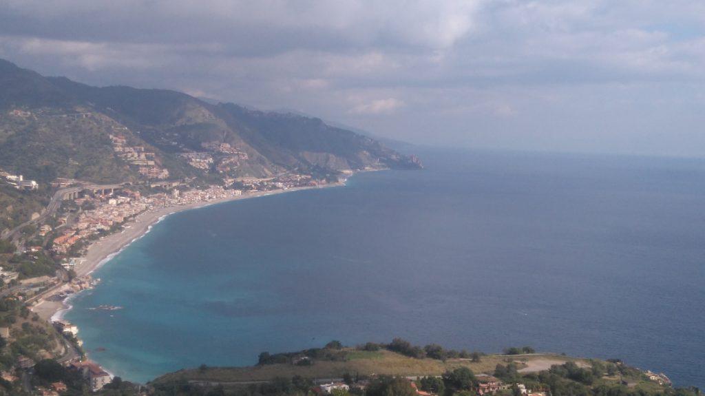 magnifique vue sur Taormina