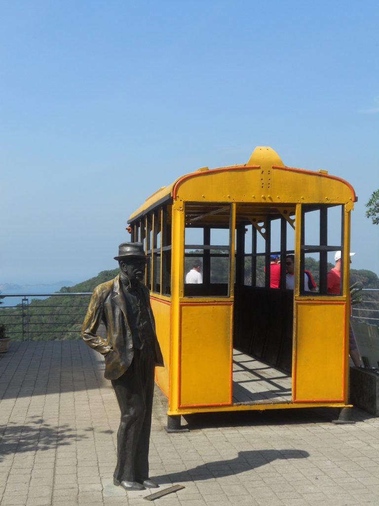 le téléphérique à Rio ancienne génération