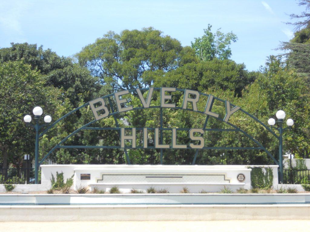 J'ai été à Beverly Hills