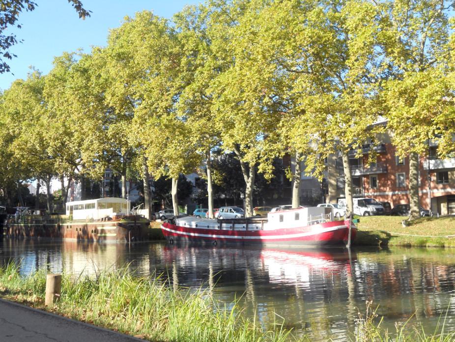 découvrir le canal du midi à Toulouse