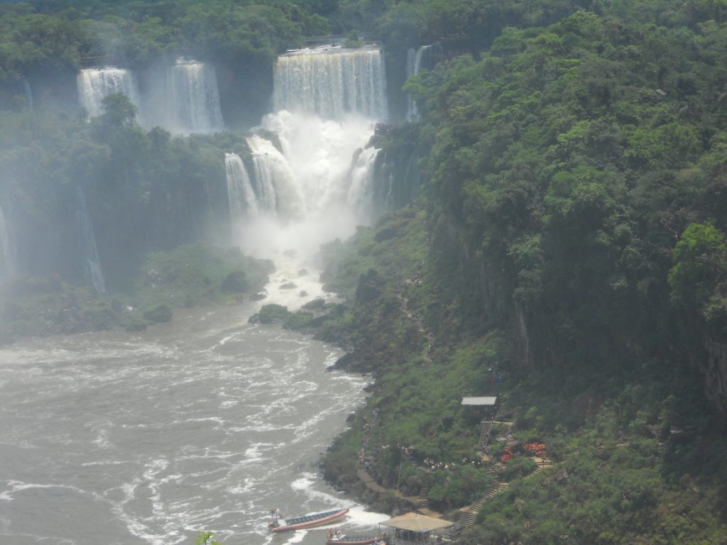 Iguacu est la pplus belle chute du monde
