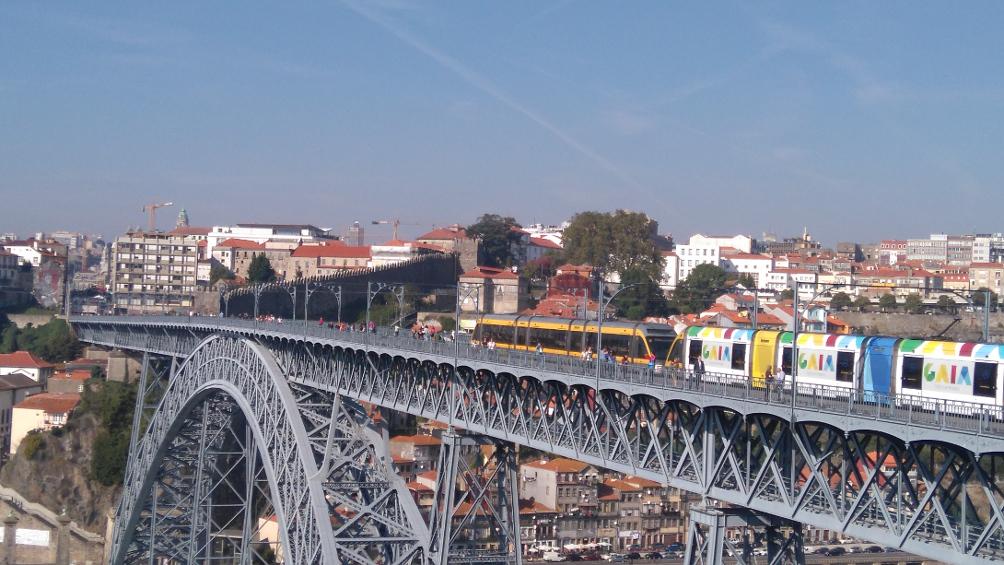 Magnifiques ponts à Porto