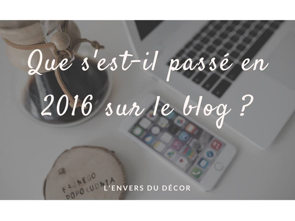 bilan blogging 2016
